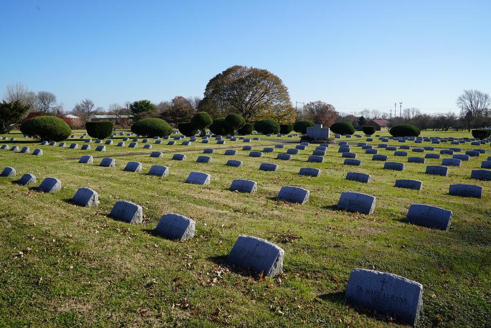 Sisters of the Blessed Sacrament Cemetery. Bensalem, Pennsylvania.