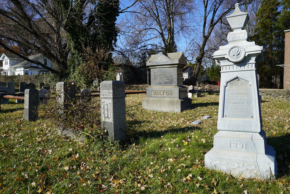 Vandegrift Cemetery. Bensalem, Pennsylvania.
