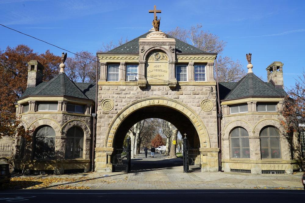 Most Holy Redeemer Cemetery. Philadelphia, Pennsylvania.
