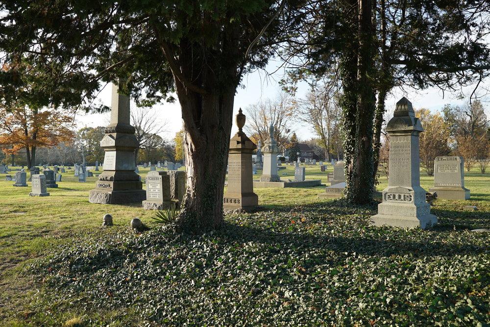 Knights of Pythias Greenwood Cemetery. Philadelphia, Pennsylvania.