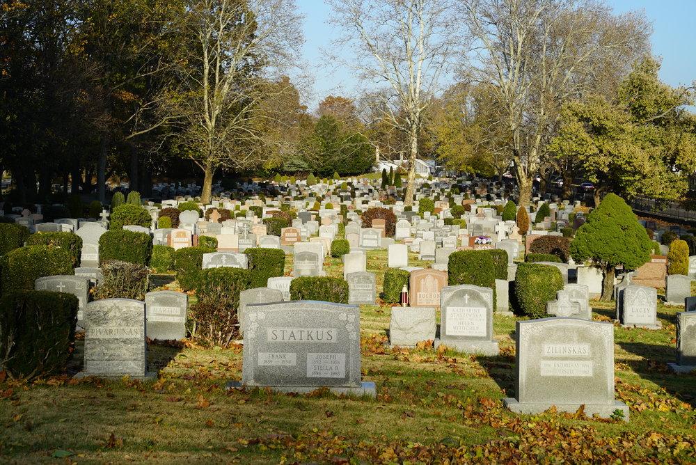 Oakland Cemetery. Philadelphia, Pennsylvania.