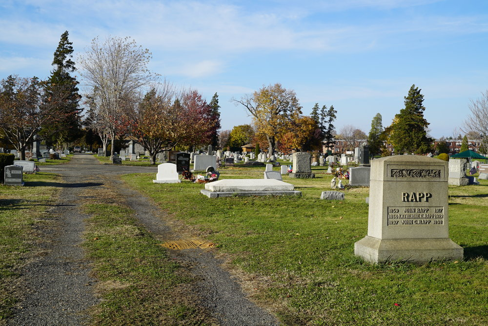 Magnolia Cemetery. Located in the Tacony section of Philadelphia, Pennsylvania.