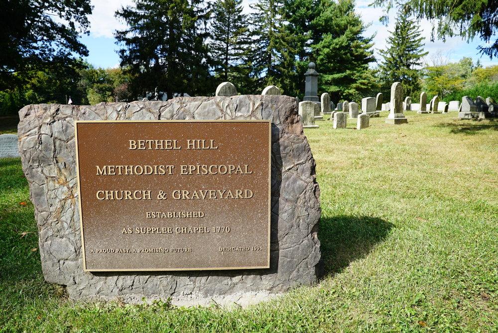 Bethel Hill Methodist Episcopal Graveyard. Lansdale, Pennsylvania.