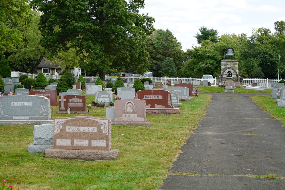 Saint Stanislaus Catholic Church Cemetery. Lansdale, Pennsylvania.