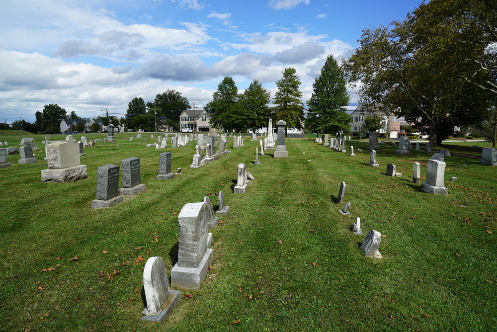 North Wales Baptist Cemetery. Lansdale, Pennsylvania.