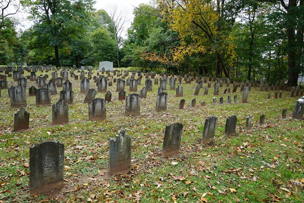 Towamencin Schwenkfeler Cemetery. Towamencin Township, Montgomery County, Pennsylvania.