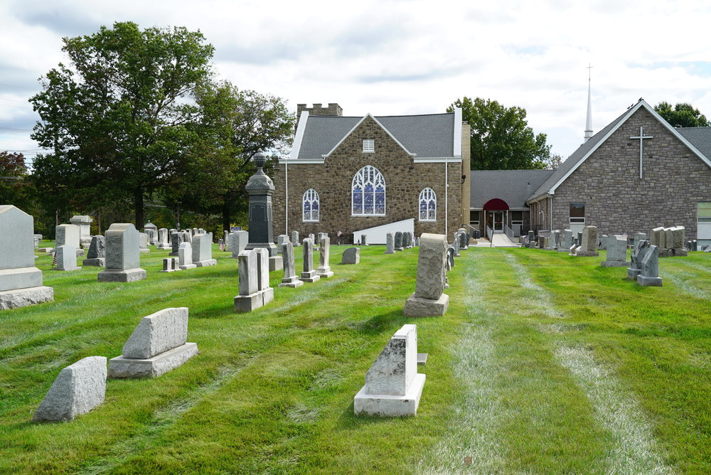 Christ Covenant Church Cemetery. Kulpsville, Pennsylvania.
