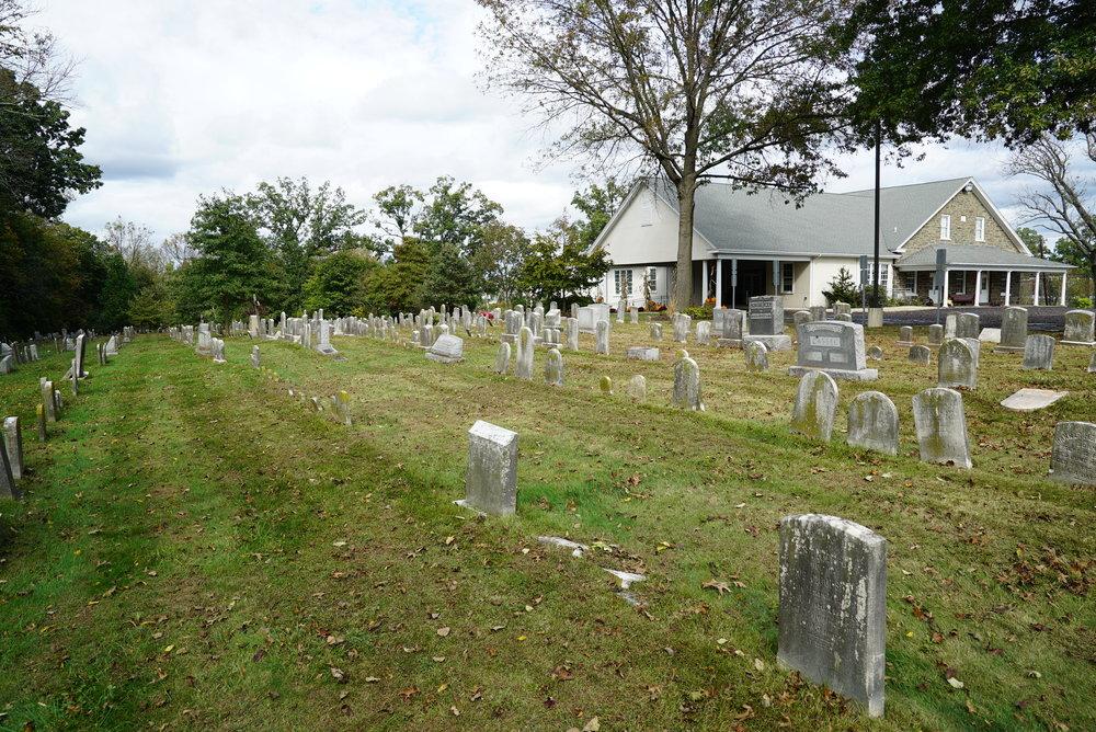Towamencin Mennonite Cemetery. Kulpsville, Pennsylvania.