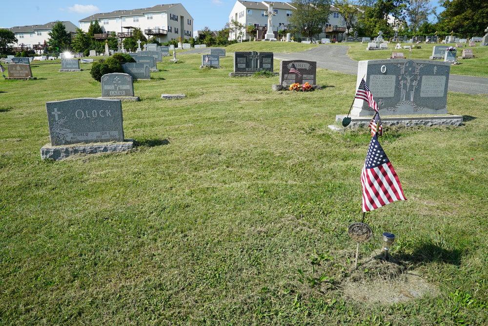 St. Johns Greek Catholic Cemetery. Pottstown, Pennsylvania.