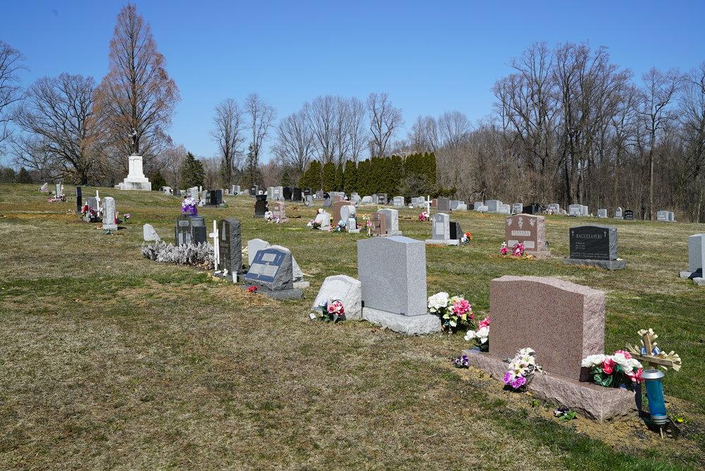 St. Patrick's Cemetery. Kennett Square, Pennsylvania.