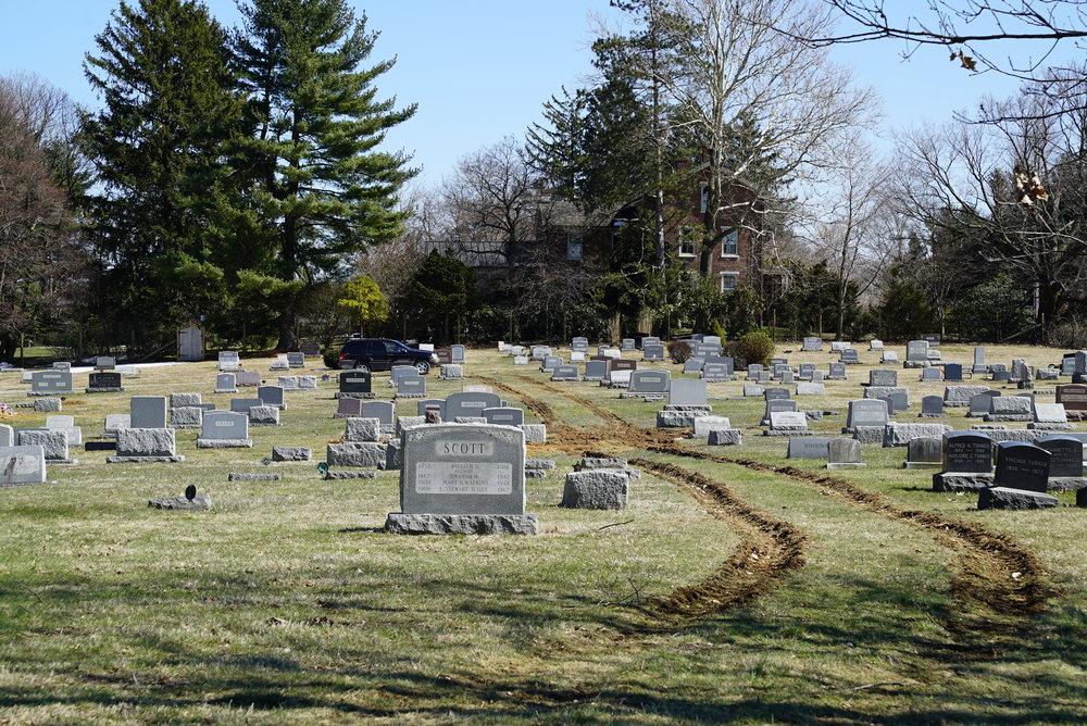 Unionville Cemetery. Unionville, Pennsylvania.