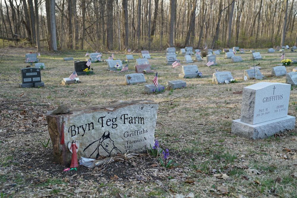 Hibernia Methodist Episcopal Church Cemetery. North of Coastesville, Pennsylvania.