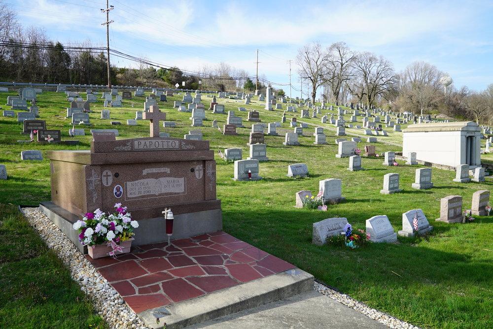 St. Cecilia Church Cemetery. Coatesville, Pennsylvania.