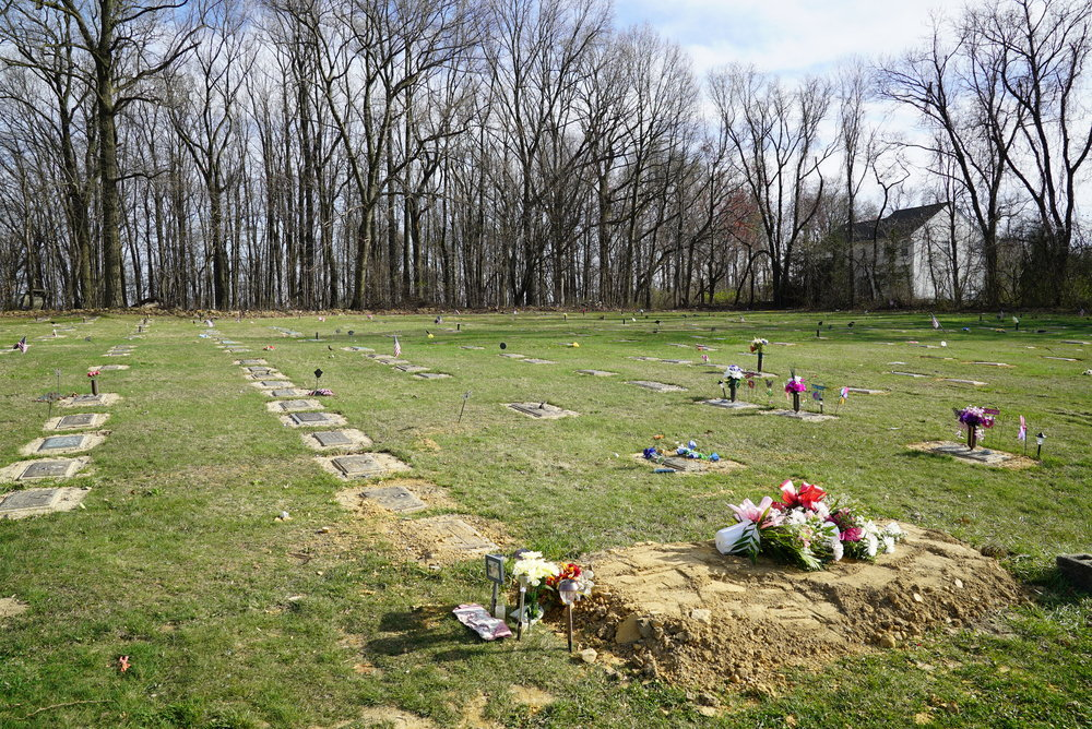 New Evergreen Cemetery. Coatesville, Pennsylvania.
