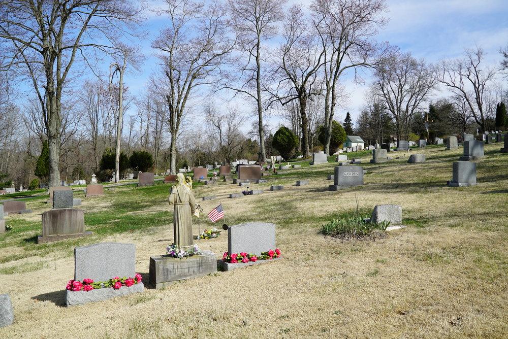 St. Stanislaus Cemetery. Coatesville, Pennsylvania.