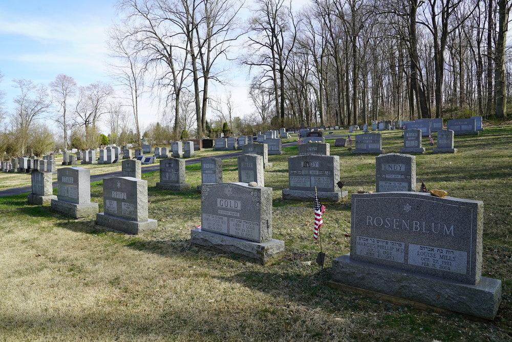 Beth Israel Cemetery. Coatesville, Pennsylvania area.