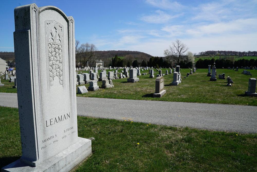 Pennington Presbyterian Church Cemetery. Atglen, Pennsylvania.