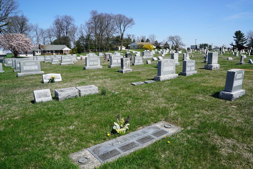Cochranville United Methodist Church Cemetery. Cochranville, Pennsylvania.