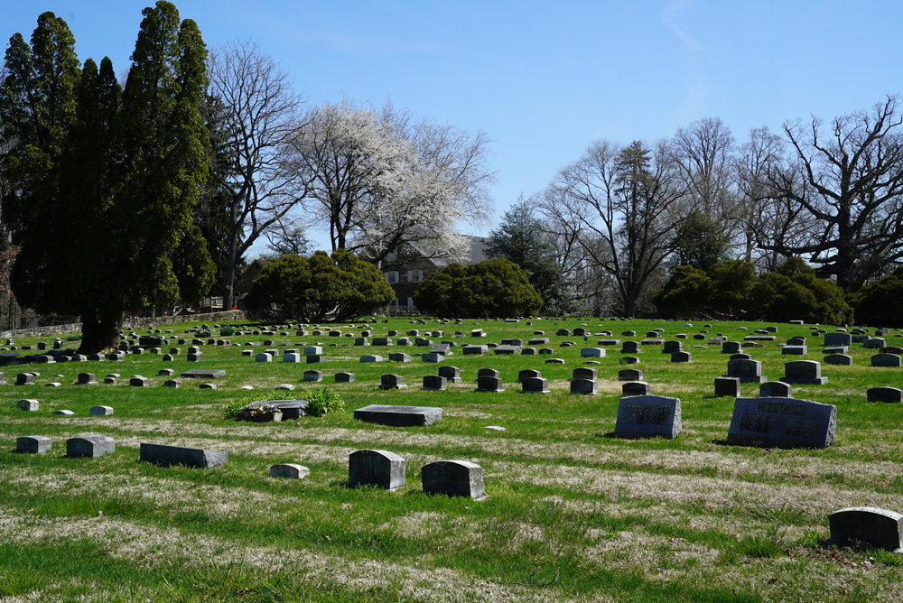 London Grove Friends Burial Ground. Kennett Square, Pennsylvania area.