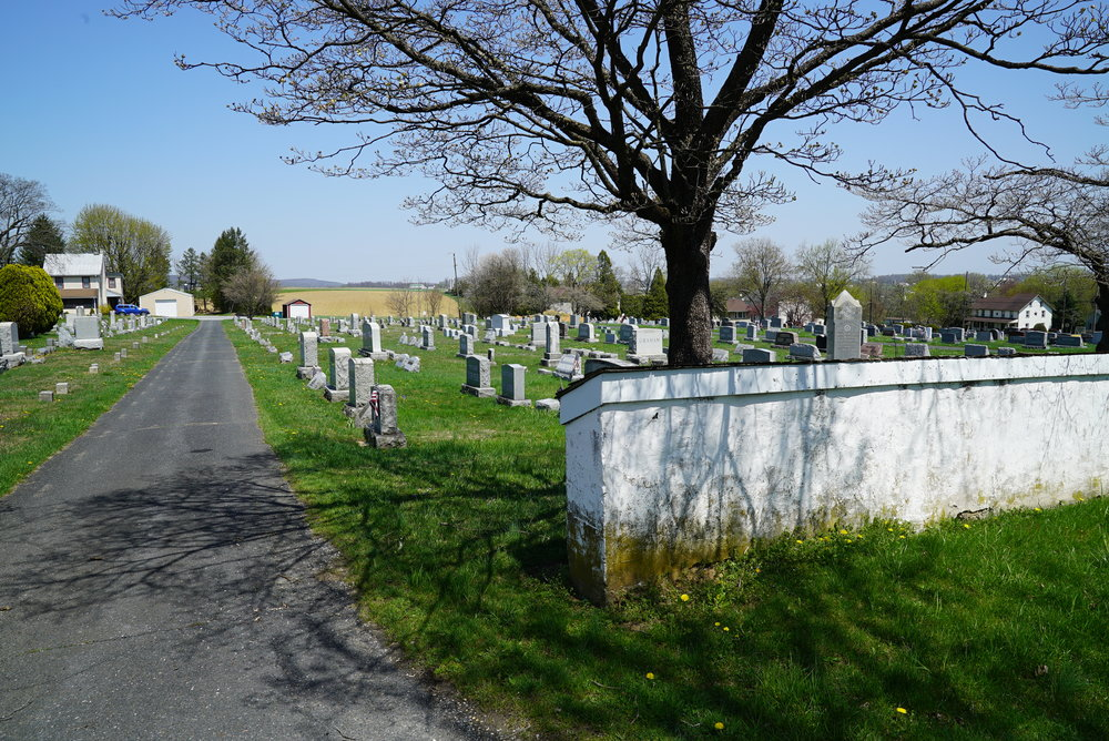 Honey Brook United Methodist Church Cemetery. Honey Brook, Pennsylvania.