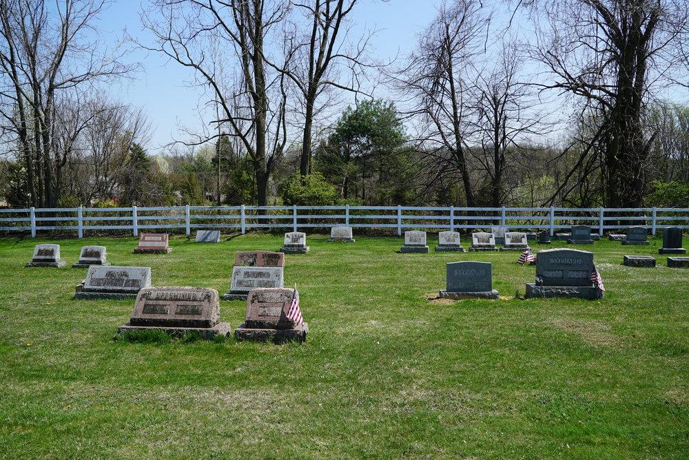 Goodwill United Methodist Cemetery. Elverson, Pennsylvania area.