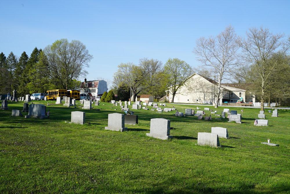 St. Paul's Lutheran Church Cemetery. Lionville, Pennsylvania.