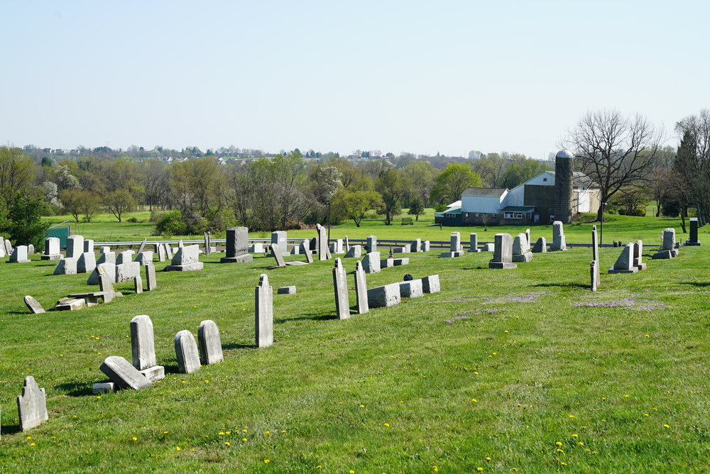 Vincent Mennonite Church Cemetery, also known as Rhoad's Burying Ground. Spring City, Pennsylvania area.