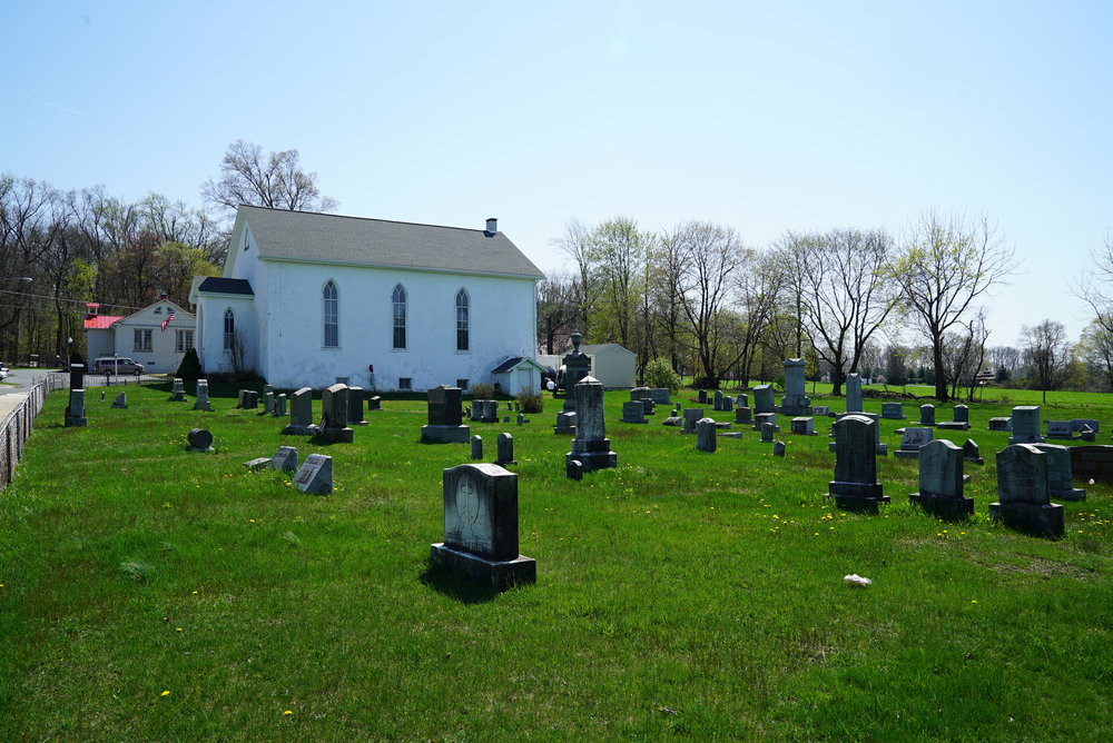 United Brethren Church Cemetery. Elverson, Pennsylvania.