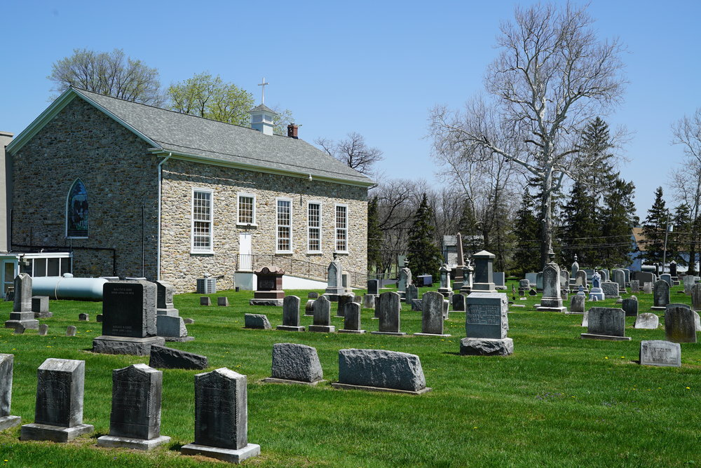 St  John's Episcopal Church Cemetery - Compass, Pennsylvania — Local