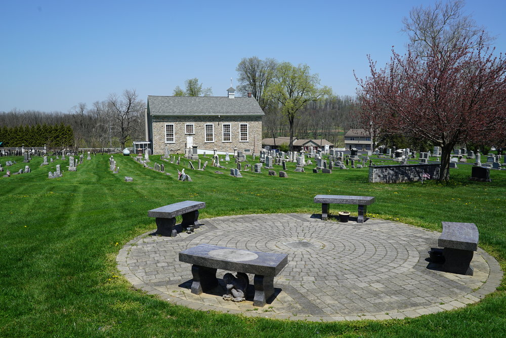 St. John's Episcopal Church Cemetery. Compass, Pennsylvania.