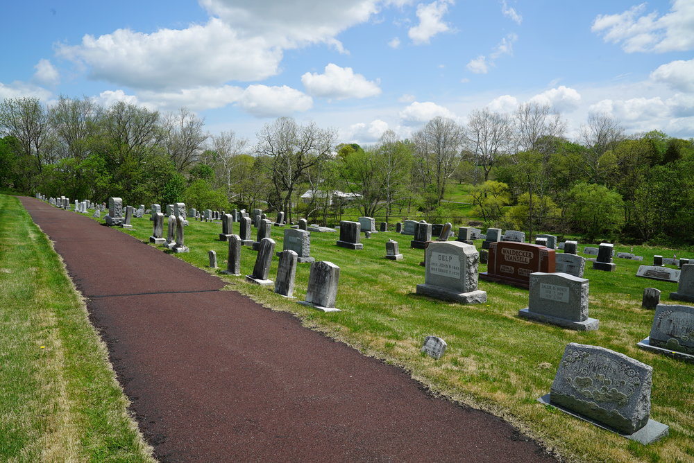 Indian Creek Church Of The Brethren Cemetery. Harleysville, Pennsylvania.