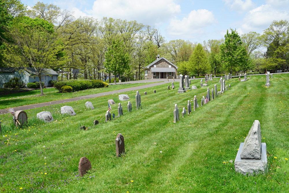 Salford Mennonite Church Cemetery. Harleysville, Pennsylvania.
