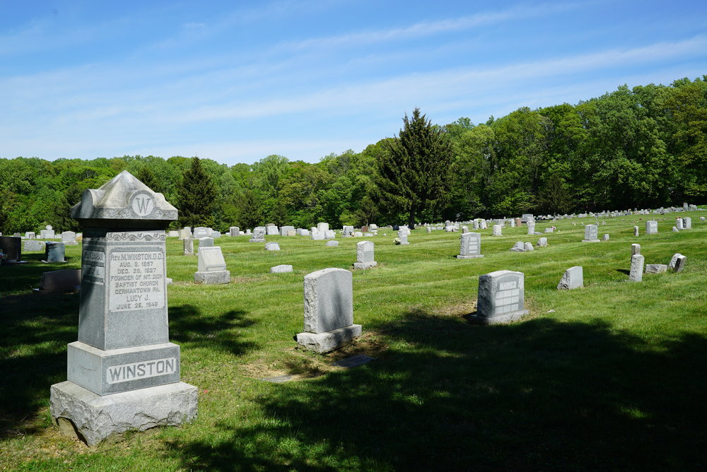 Fairview Cemetery. Willow Grove, Pennsylvania.