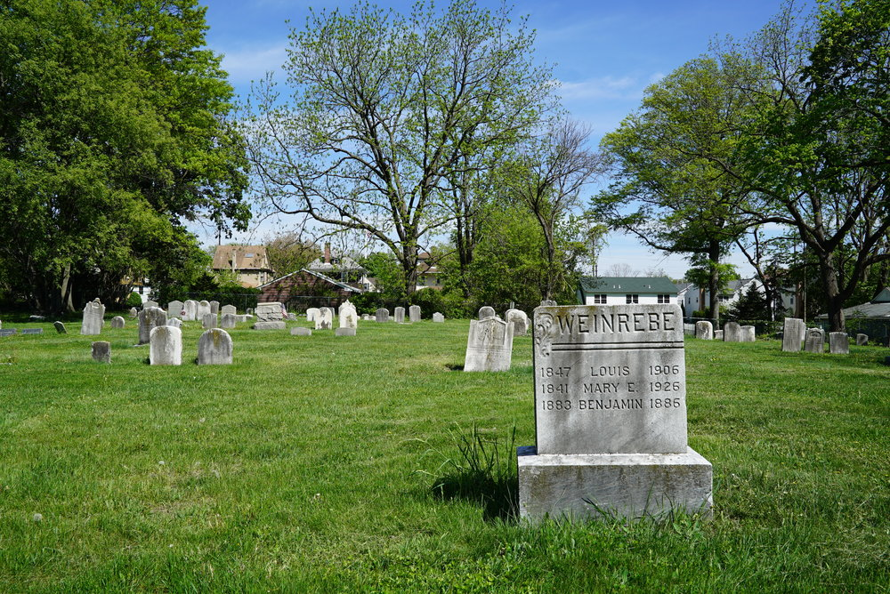 Hatboro Baptist Church Cemetery. Montgomery County, Pennsylvania.