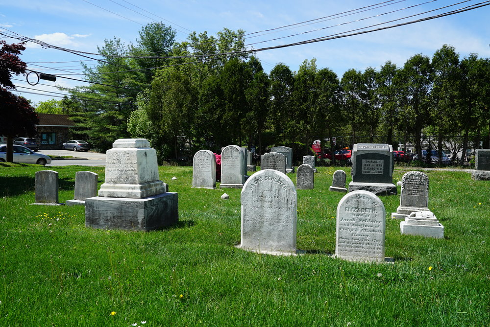 First Presbyterian Church In Springfield Cemetery. Flourtown, Pennsylvania.