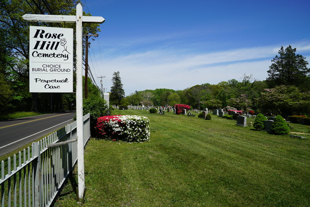 Rose Hill Cemetery. Ambler, Pennsylvania. May 11, 2018.