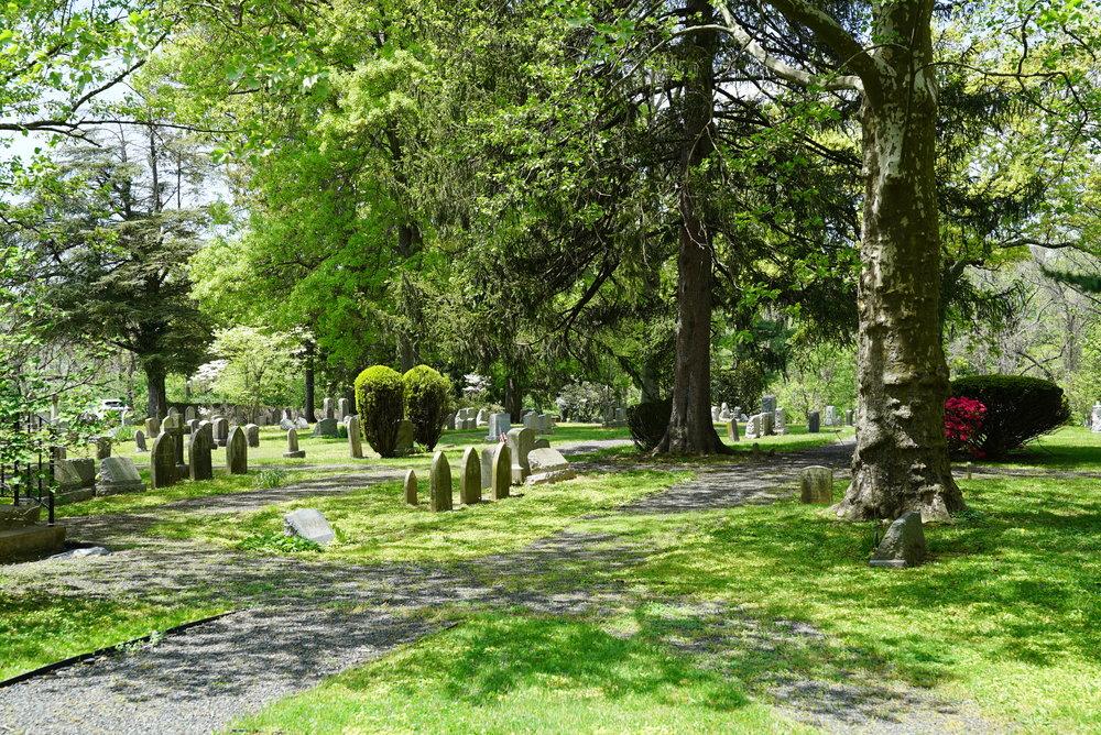 Church Of The Messiah Cemetery. Lower Gwynedd, Pennsylvania.