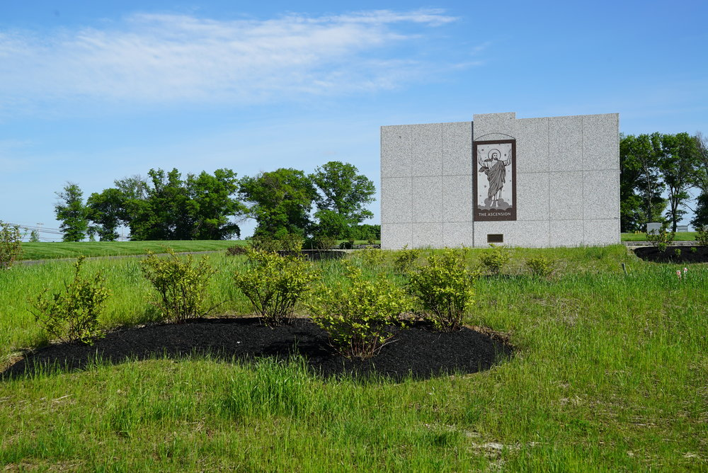 All Saints Cemetery. Newtown, Pennsylvania.