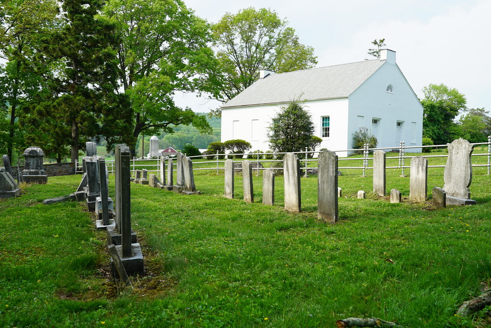 Kraussdale Meeting House and Cemetery. East Greenville area.