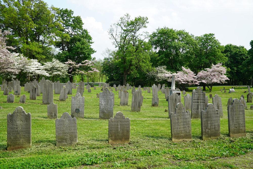 New Goshenhoppen United Church Of Christ Cemetery. East Greenville, Pennsylvania.