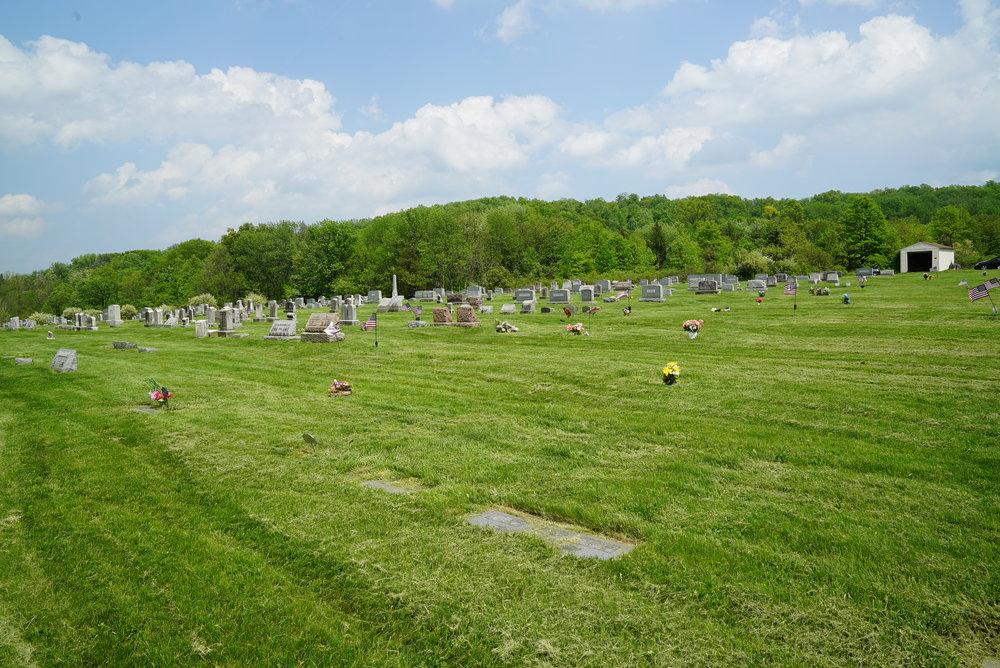 St. Paul's Lutheran Church Cemetery - Sassamansville, Pennsylvania.