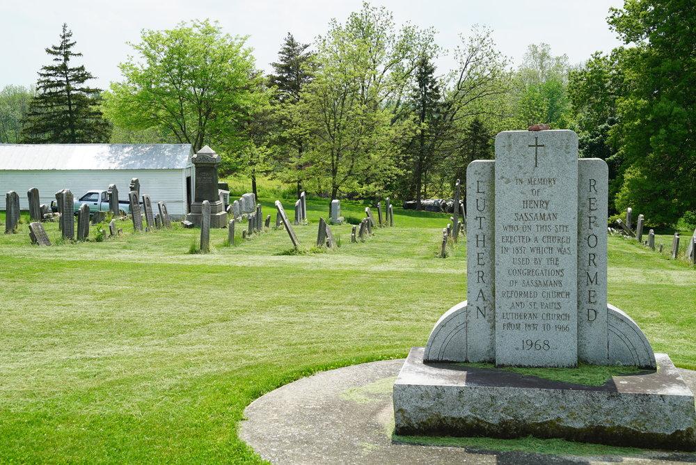 Sassamansville Reformed Cemetery. Montgomery County, Pennsylvania.