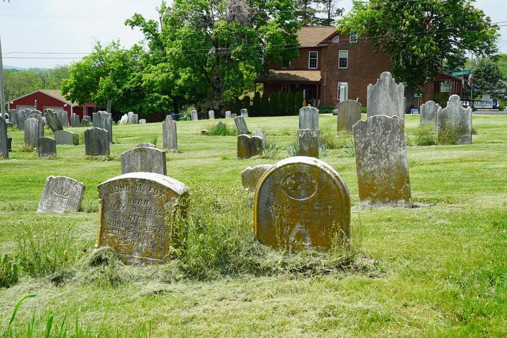 Sassamansville Reformed Cemetery - Montgomery County, Pennsylvania.
