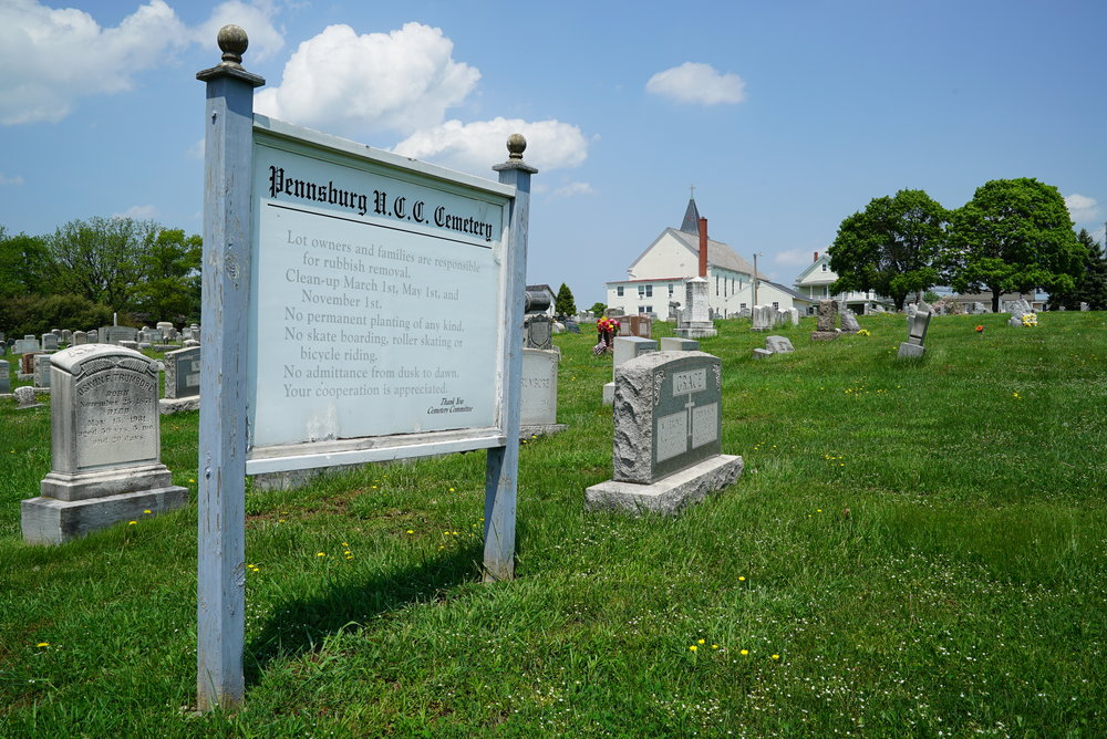 Pennsburg United Church of Christ Cemetery. Pennsburg, Pennsylvania.