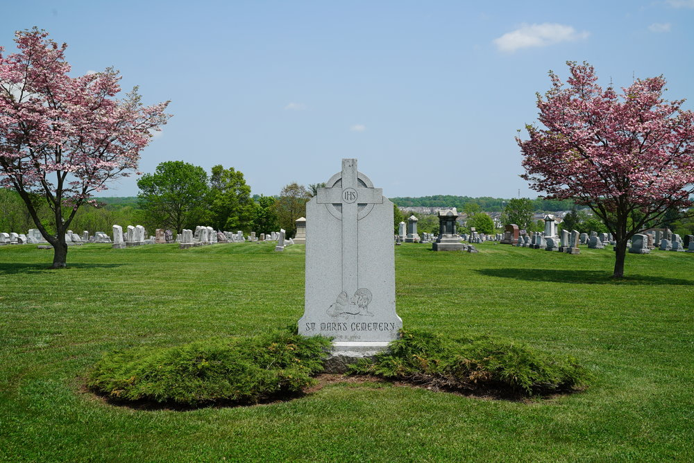 St. Mark's Lutheran Cemetery - East Greenville, Pennsylvania.
