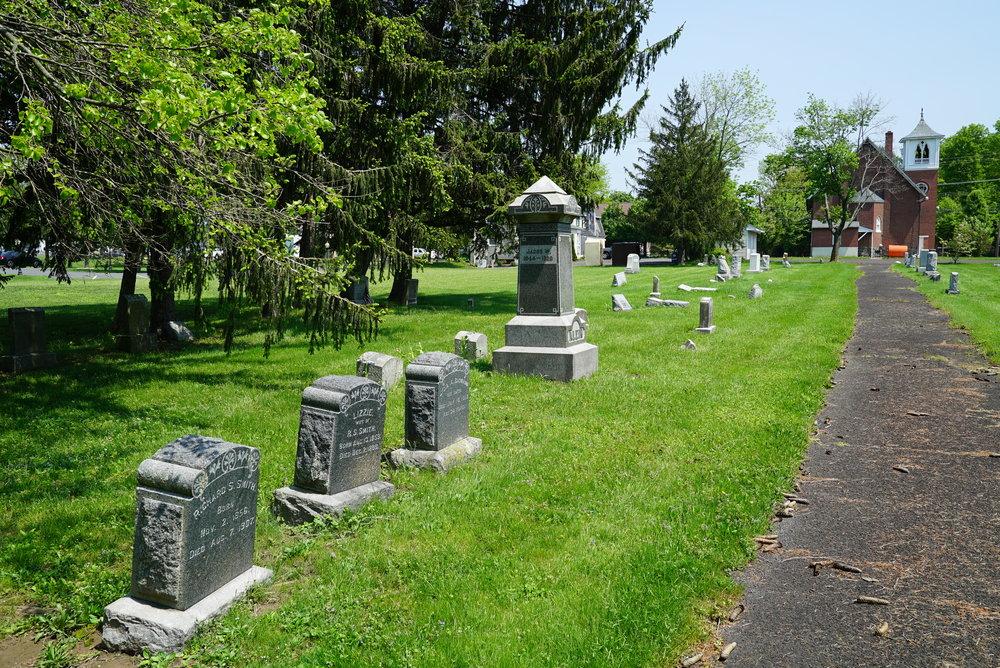 Christ Evangelical Congregational Church Cemetery. Zieglerville, Pennsylvania.
