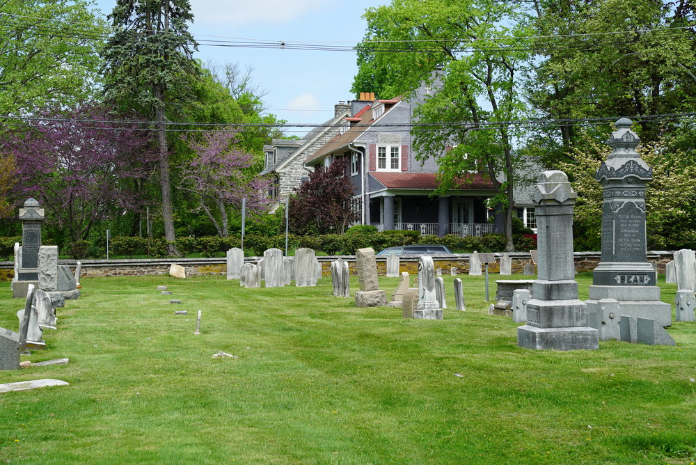 St. Peter's Lutheran Church Cemetery - North Wales, Pennsylvania.