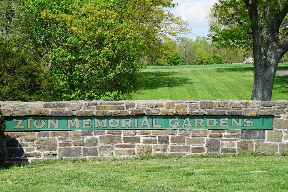 Zion Memorial Gardens - Franconia Township, Pennsylvania.