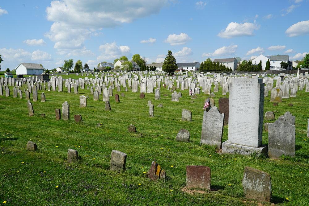 Christ Reformed Church At Indian Creek Cemetery - Telford, Pennsylvania.