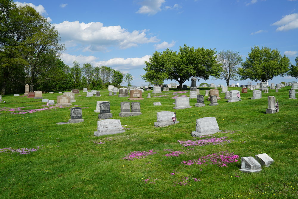 Leidy's Cemetery - Franconia Township, Pennsylvania.